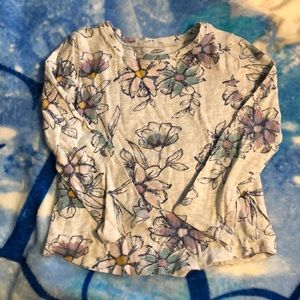 5/$15 Old Navy Flower Cotton Top